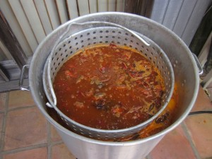 Add Crawfish to the Boiling Water
