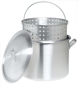 80 Quart Aluminum Pot