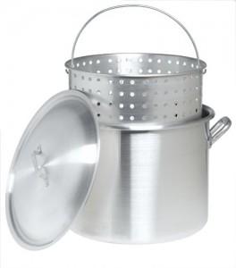 80 Quart Aluminum Pot